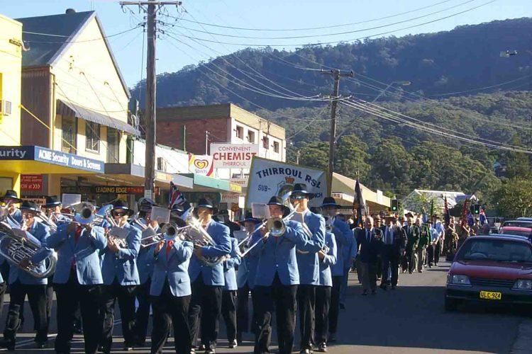 ANZAC SERVICE Thirroul