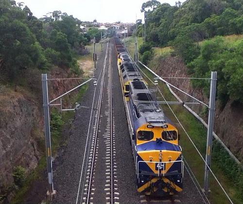 coal train bulli
