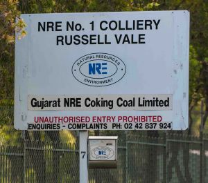 Almost 50 miners have lost their jobs at Russell Vale and Wongawilli collieries. PHOTO: Warren & Diana Ackary.