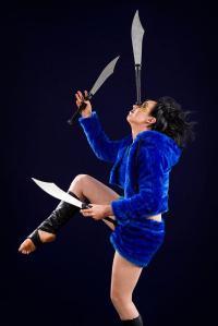 Neisha Murphy performing for Circus Monoxide. PHOTO: http://www.circusmonoxide.com.au/