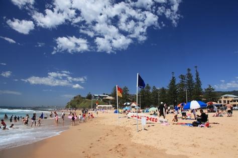 North Wollongong Beach. PHOTO: visitwollongong.com.au