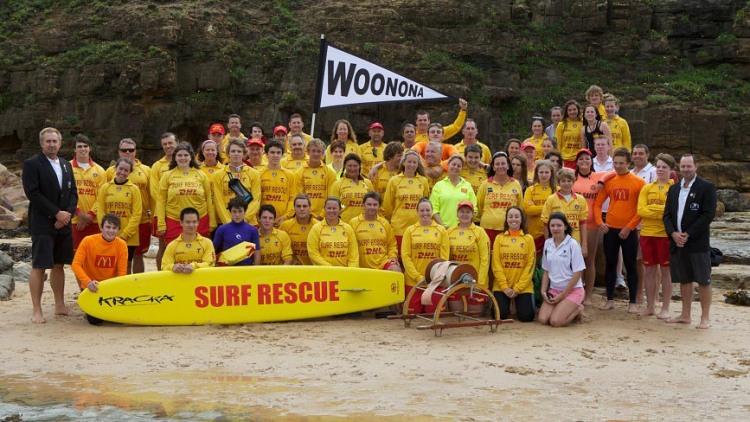 Woonona Surf Club members 2013