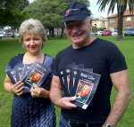Gordanna Spriovska with Wollongong Lord Mayor Gordon Bradbery at the Seniors Week launch.
