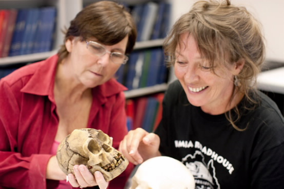 Facial approximation specialist, Dr Susan Hayes (right), will give a free and interactive public lecture at Uni in the Brewery on Wednesday.