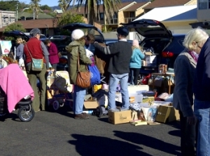 The last car boot sale at Corrimal