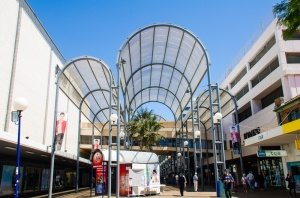 Wollongong Mall's 'bird cage' is about to be dismantled.
