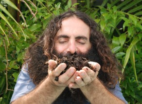 Costa Georgiadis, landscape architect and host of ABC's Gardening Australia is the ambassador of Composting Week.