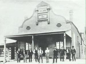 The original Helensburgh Workers Club in Walker Street