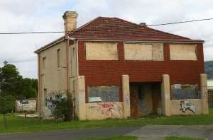 The former Railway Guest House, now owned by Woolworths.