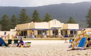 Thirroul Beach Kiosk. PHOTO: visitwollongong.com.au
