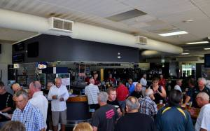 The bar area of Bulli Bowling Club in recent months. Photo: Bulli Bowling Club Facebook Page.
