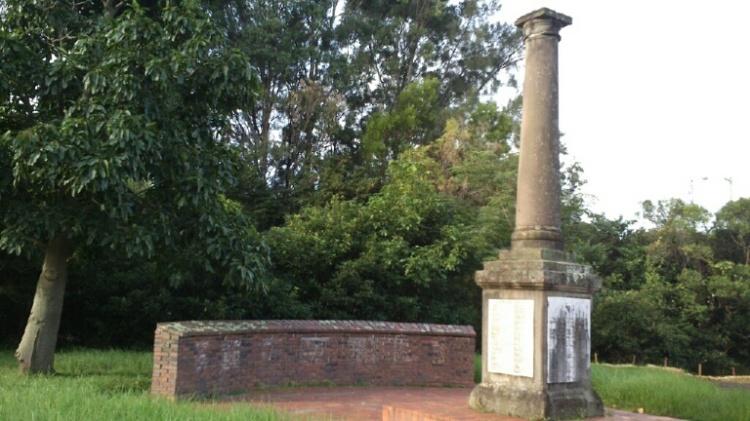 Bulli War Memorial Pioneer Wall