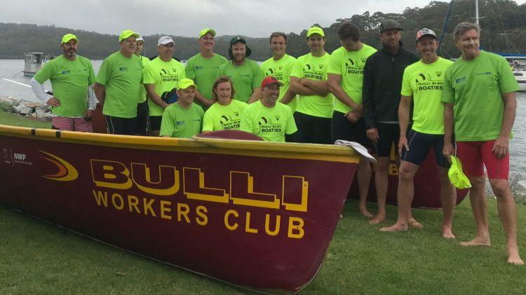 bulli slsc champion boat crew