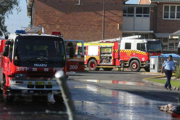 corrimal high school fire 2