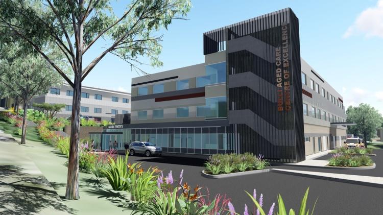 New Bulli Hospital artist impression 1