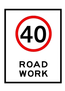 road works sign 3