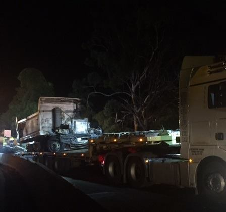 Bulli Pass truck smash March 2019