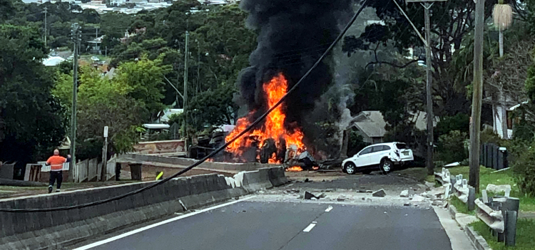 bulli-pass-truck-crash-march-2019 B