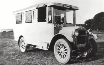 The Bulli Railway bus