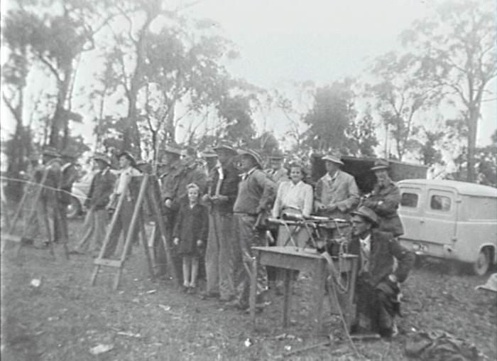 The Bulli Rifle Range in the 1940s