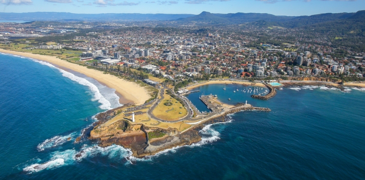 wollongong city news-aerial