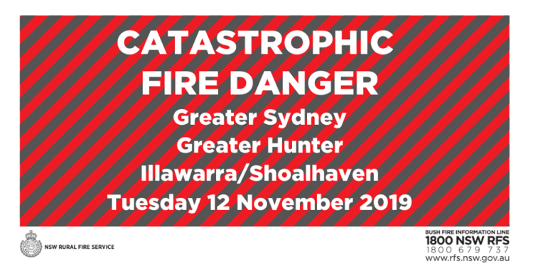 catastrophic warning