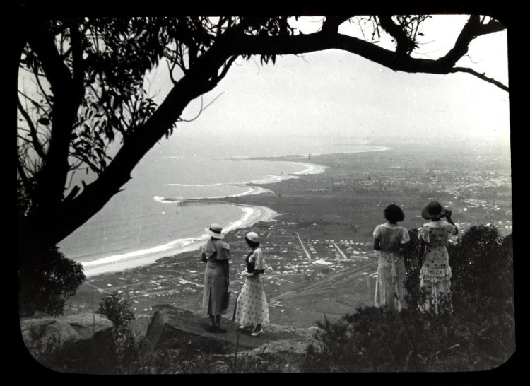 The spectacular views from Sublime Point 1906