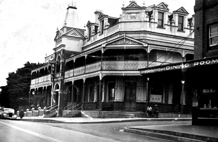 Bulli Family Hotel Bulli ANU 1949