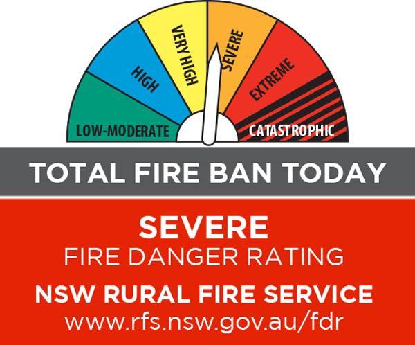 sever fire danger
