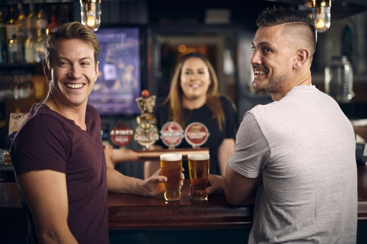 Carlton Draught Drinkers