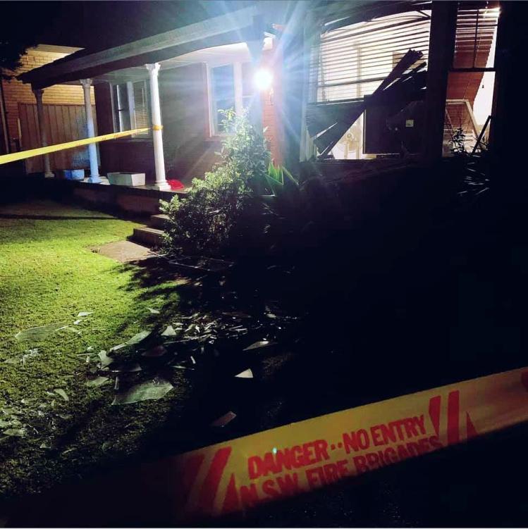 Helensburgh gad heater explosion 1