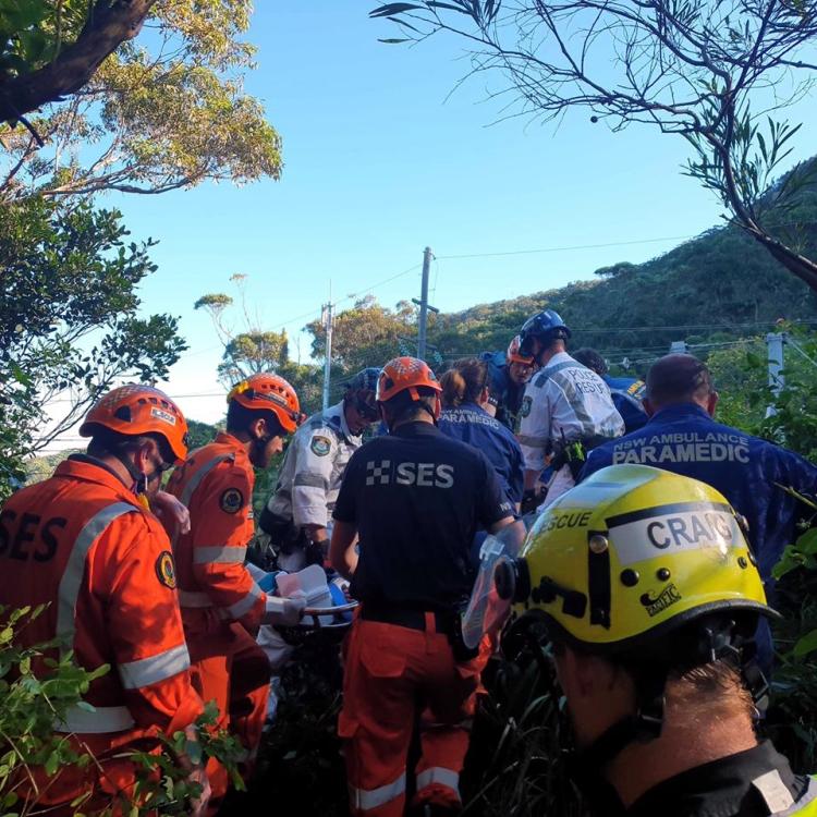 sea cliff bridge rescue 1