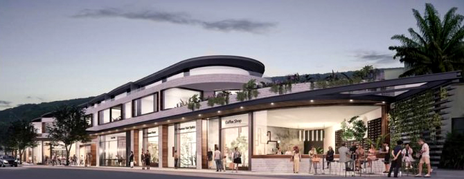 Thirroul Plaza redevelopment artist impression