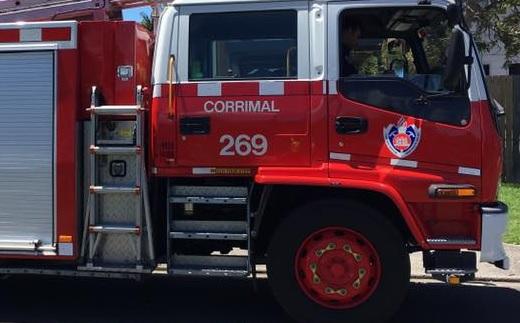 corrimal fire truck