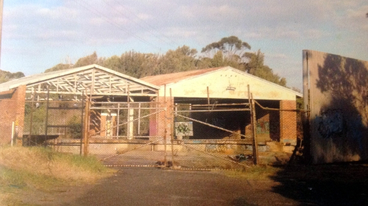 Dairy Farmers Depot Bulli remains 2003 Bronwen Chamberlain
