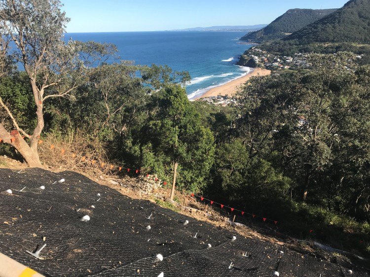 stanwell park lawrence gargrave drive work