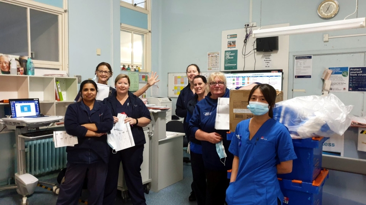 Bulli Hospital last day August 11 2020 staff 1