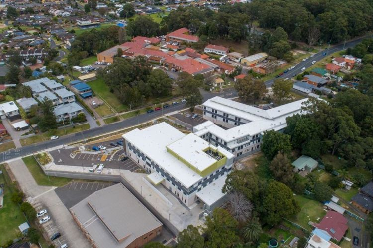 Bulli Hospital new and old